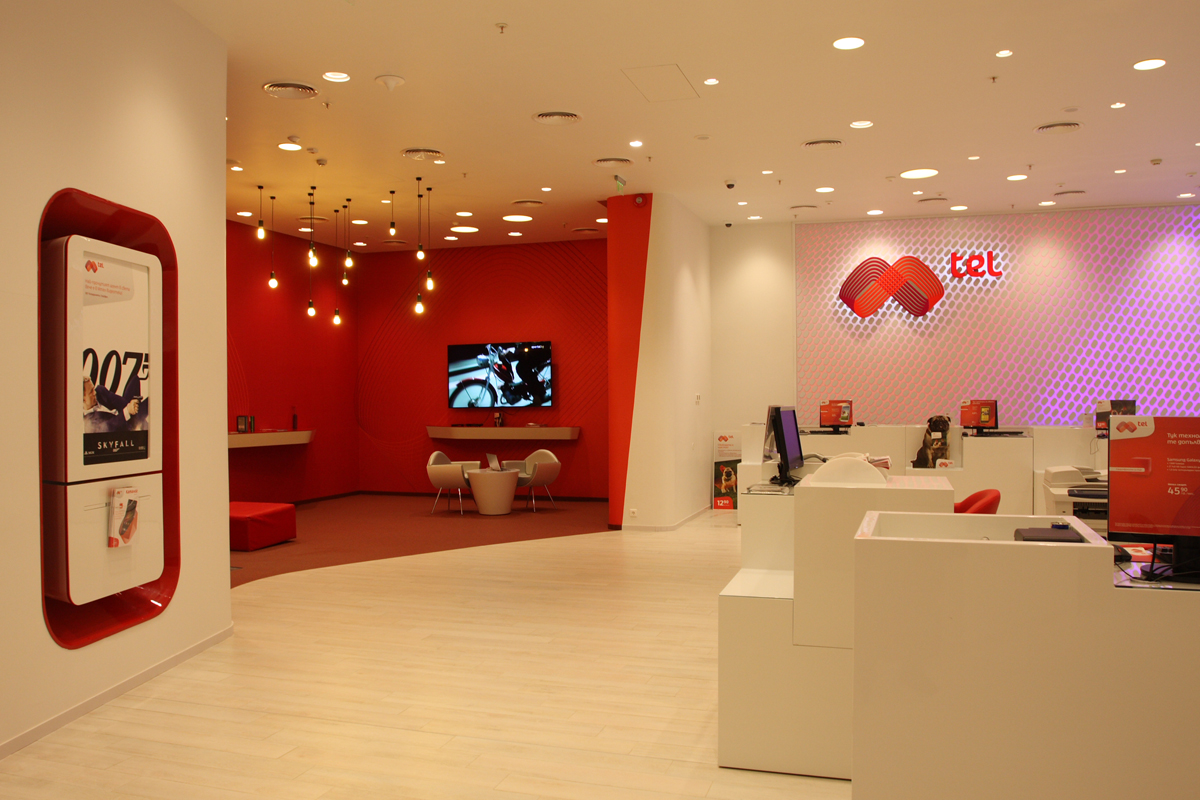 mtel shop interior